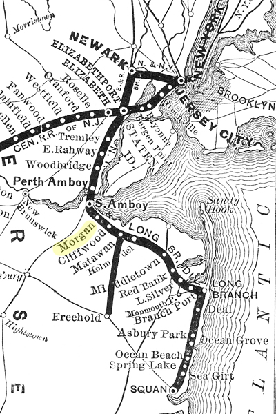 1878 Map of the CNJ RR