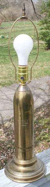 "Mr. McWhorter's World War I ""Victory Lamp""."