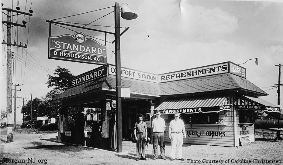 Henderson's Esso Station, Morgan, NJ