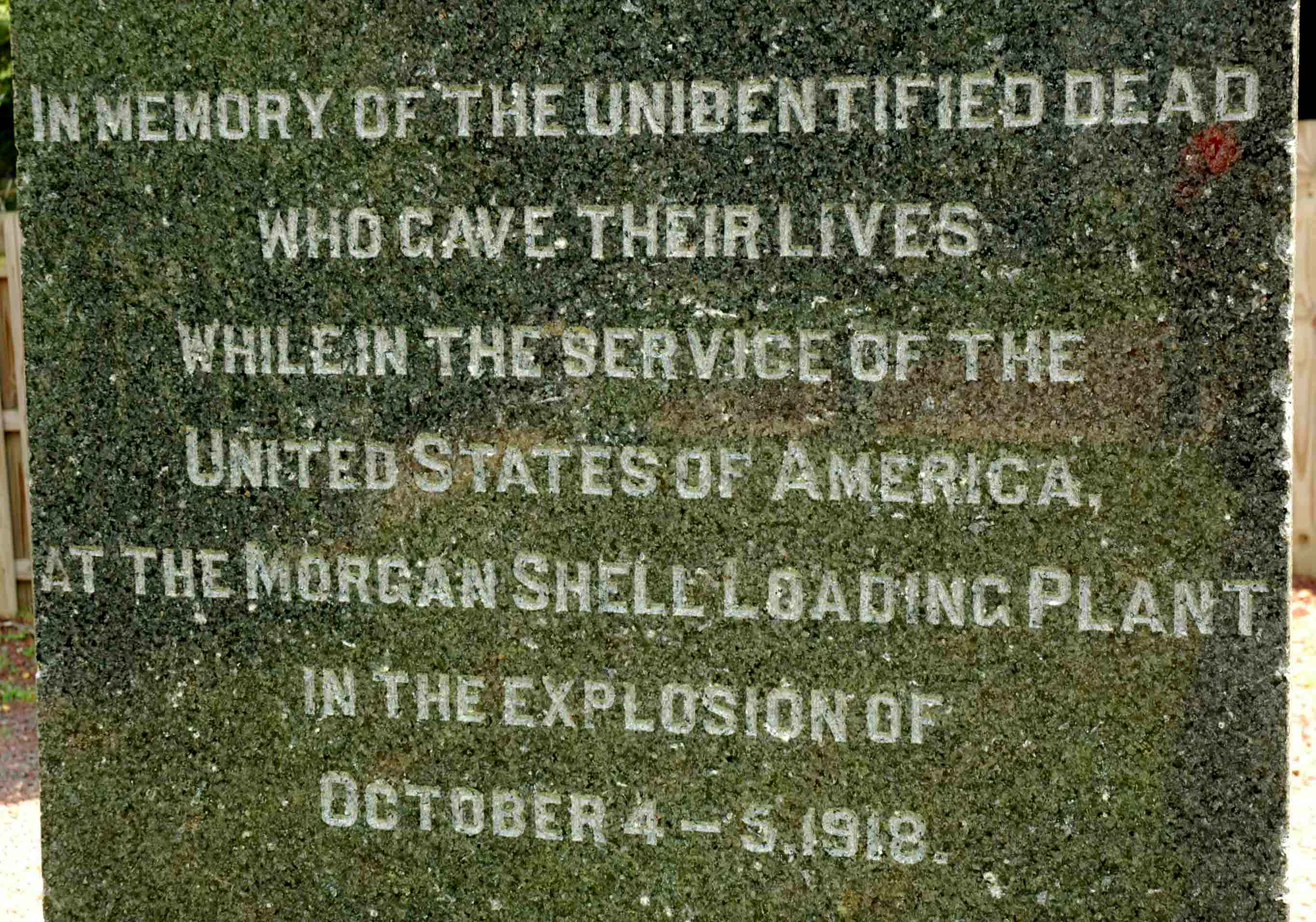 Morgan Shell Plant Memorial