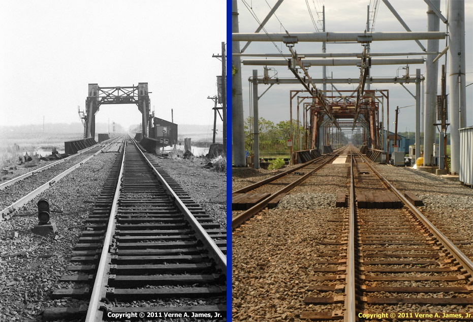 NJ Transit Cheesequake Creek Railroad Bridge