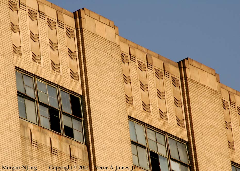SA JCP&L Building - Close Up on the Top