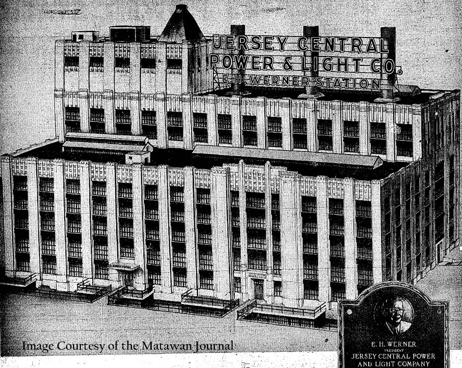 Werner Building from Matawan Journal Illustration