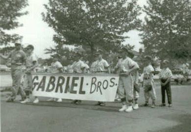 Gabriel Brothers Team on Parade