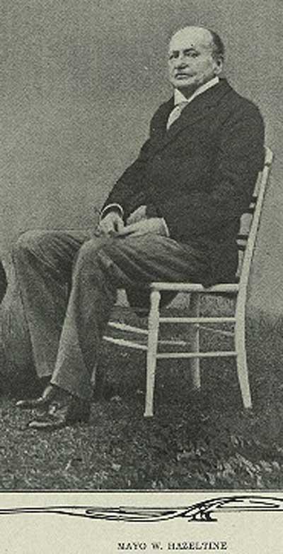 Mayo W. Hazeltine