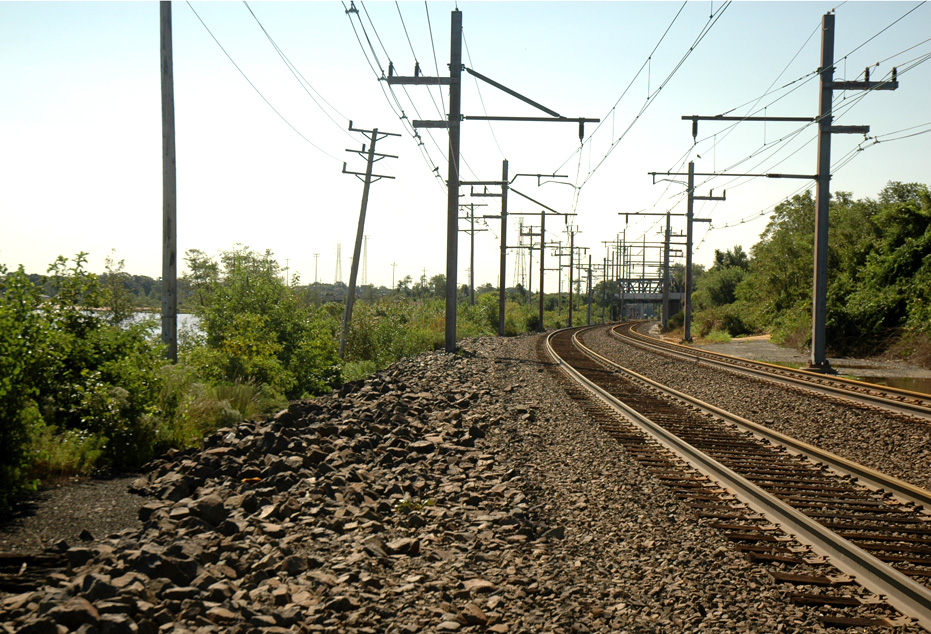 "2011 ""A Curve on the NJ Transit North Jersey Coast""."