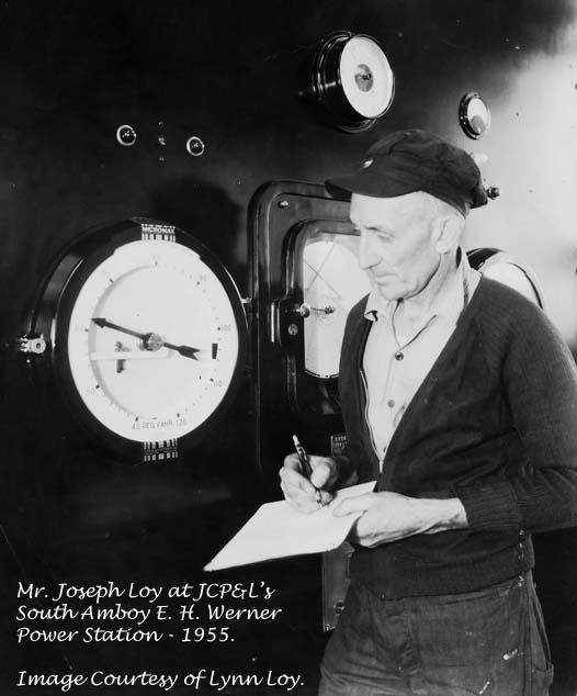 Joseph C Loy - JCP&L 1955