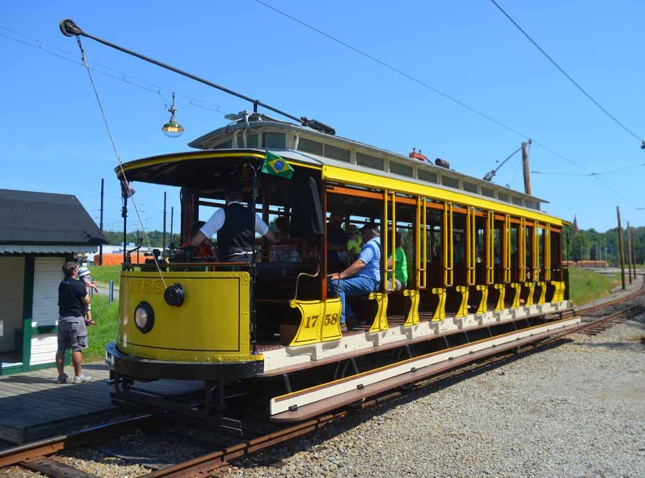 Pennsylvania Trolley Museum Trolley