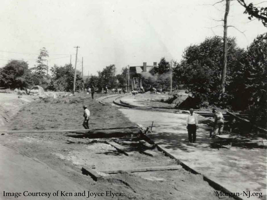 Road Construction on South Pine Avenue
