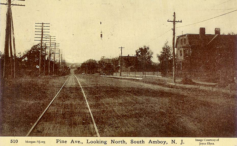 Looking North on South Pine Avenue