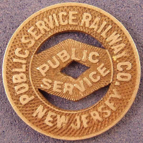 Public Service Railway Token