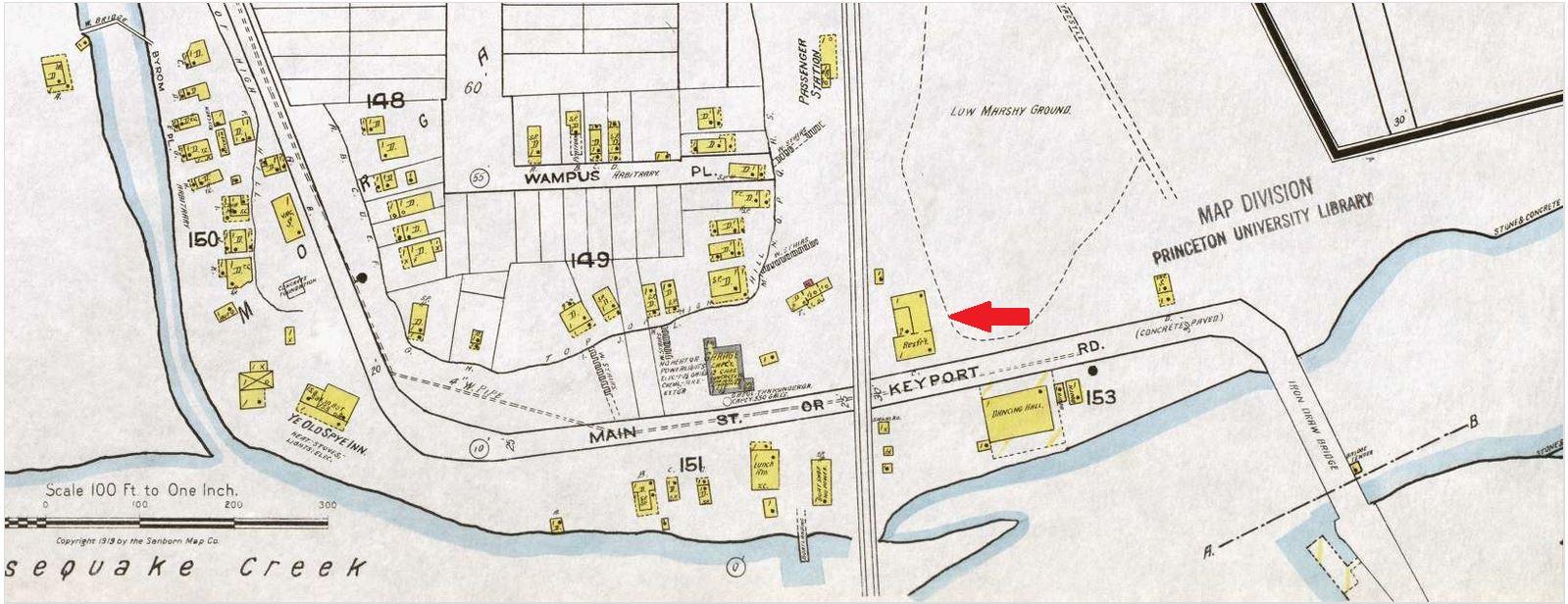 1919 Sanborn Fire Map