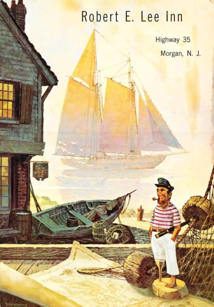 Menu Cover from the Robert E Lee Inn.