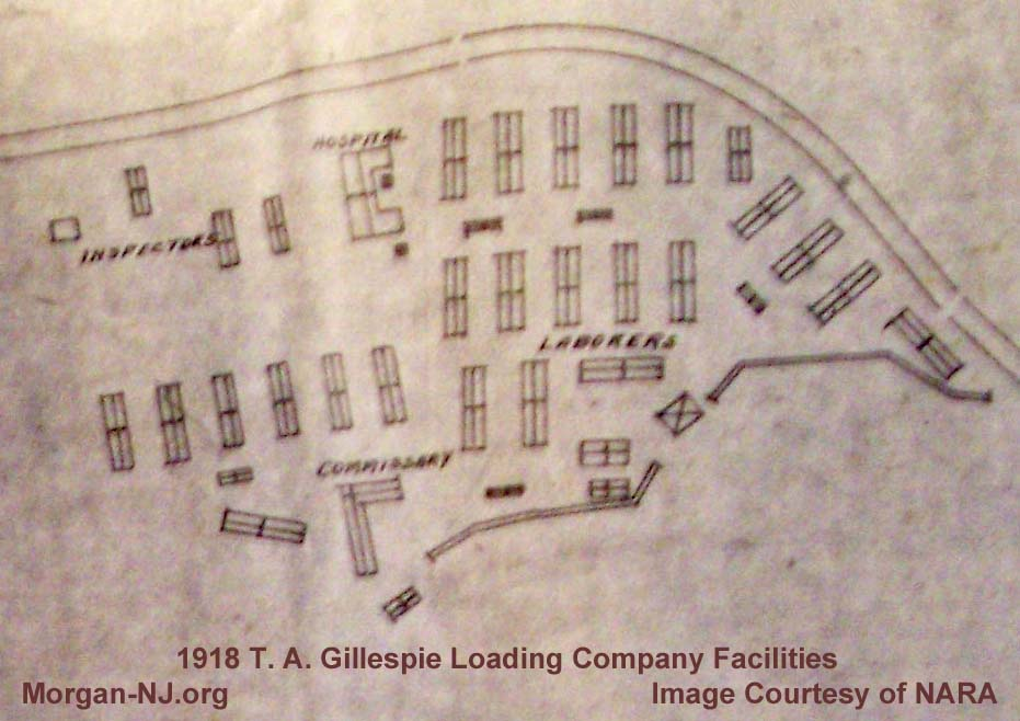 T. A. Gillespie Loading Company 1918 Facilities