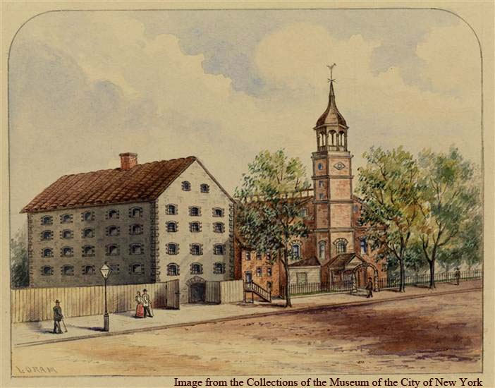 Livingston's Sugar House, 1830.