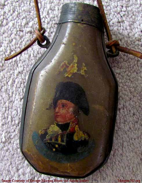 Major General James Morgan, Jr.'s Musket Horn.