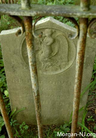 Headstone for Albert Orville Tanner