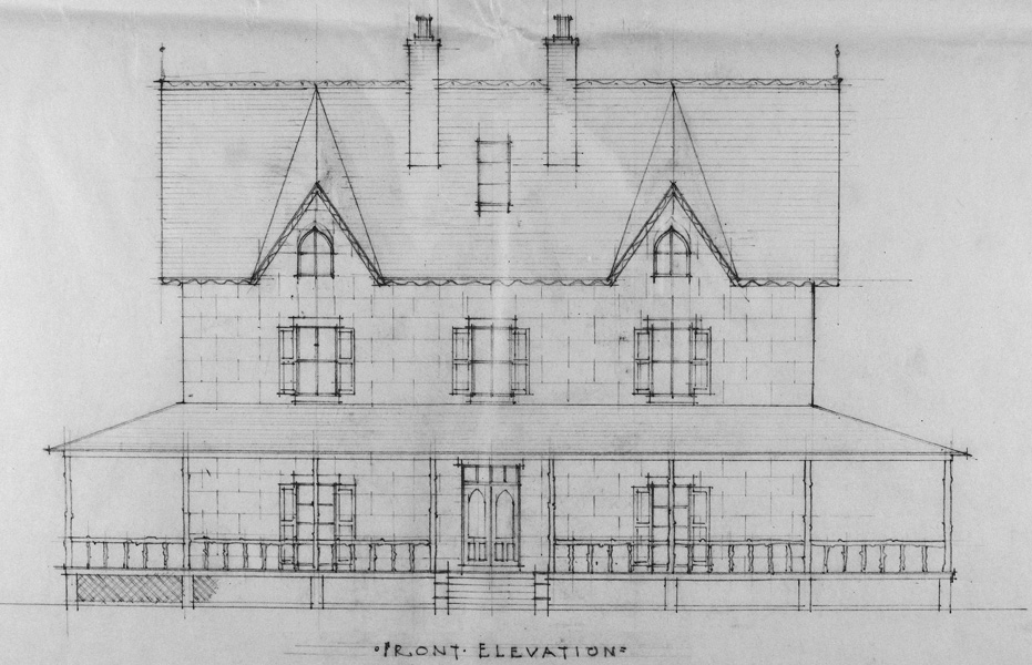 Bayview Manor Front. Image Courtesy of the National Archives.
