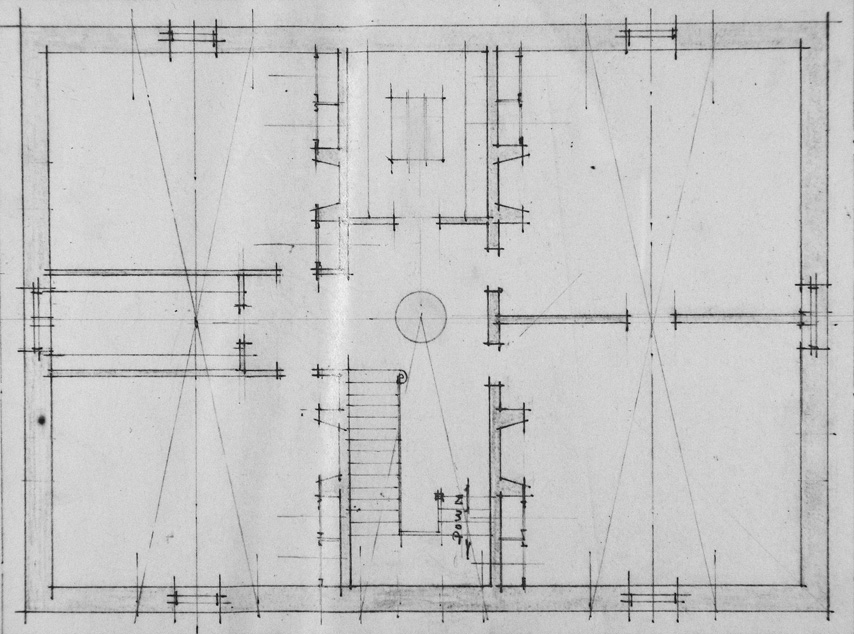 Bayview Manor Third Floor Layout. Image Courtesy of the National Archives.