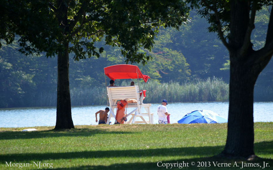 Damages to Cheesequake State Park by Hurricane Sandy